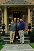 © 2015 Brian J. Morowczynski ViaPhotosThe Klingenberger Family is photographed at their Hinsdale home on Saturday, November 28th. © 2015 Brian J. Morowczynski-ViaPhotos