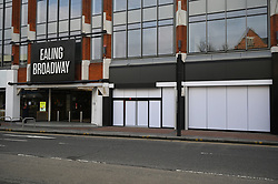 © Licensed to London News Pictures. 01/03/2021. London, UK. A hidden shop front site in Ealing is reported to be the first AMAZON GO grocery store in the UK. Shoppers need to use app to shop inside the store and pick up groceries without stopping to pay. Photo credit: Ray Tang/LNP
