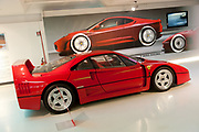 The Ferrari Museum is seen in Maranello, Italy, on Monday, July 18, 2011. Photographer: Victor Sokolowicz/Bloomberg