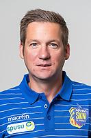 Download von www.picturedesk.com am 16.08.2019 (13:54). <br /> ST. POELTEN, AUSTRIA - JULY 9: goalkeeper coach Christoph Eglseer of St.Poelten during the Team photo shooting - SKN St.Poelten at NV Arena on July 9, 2019 in St. Poelten, Austria.190709_SEPA_01_070 - 20190709_PD15486