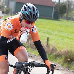 11-04-2019: Wielrennen: Healthy Ageing Tour: Surhuisterveen<br />Nicole Steigenga