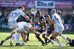 RUGBY - CHAMPIONS CUP - 2017<br /> hill (jonny) 5<br /> atkins (ollie)<br /> yato (peceli)<br /> chaume (raphael)<br /> yeandle (jack)