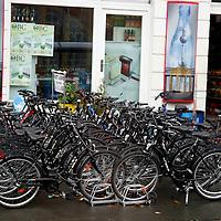 Europe, Germany, Berlin. Bicycles of Berlin.