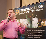 Repro  Free: Adam Cowan  Channel Mechanics<br />  Channel Mechanics  at  ITAG Members Update evening where some of the Nominees pitched their projects.   <br /> The ITAG Excellence Awards will take place on  November 17th Hotel Meyrick, Eyre Square, Galway.<br /> Winners in the following categories will be announced: <br />     New Talent of the Year Award<br />     Digital Woman Awards<br />     Emerging Technology Start Up Award<br />     Leadership Award<br />     Technology Innovation of the Year Award<br />     Digital Project Award<br />     ITAG Digital Enterprise Award < 50 Employees<br />     ITAG Digital Enterprise Award > 50 Employees.<br />  <br />  Photo:Andrew Downes, xposure.