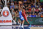 DESCRIZIONE : Campionato 2014/15 Dinamo Banco di Sardegna Sassari - Olimpia EA7 Emporio Armani Milano Playoff Semifinale Gara3<br /> GIOCATORE : Frank Elegar<br /> CATEGORIA : Controcampo<br /> SQUADRA : Olimpia EA7 Emporio Armani Milano<br /> EVENTO : LegaBasket Serie A Beko 2014/2015 Playoff Semifinale Gara3<br /> GARA : Dinamo Banco di Sardegna Sassari - Olimpia EA7 Emporio Armani Milano Gara4<br /> DATA : 02/06/2015<br /> SPORT : Pallacanestro <br /> AUTORE : Agenzia Ciamillo-Castoria/L.Canu
