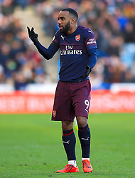Arsenal's Alexandre Lacazette during the Premier League match at the John Smith's Stadium, Huddersfield.