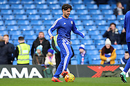 Alexandre Pato of Chelsea during pre match warm up. Barclays Premier league match, Chelsea v Stoke city at Stamford Bridge in London on Saturday 5th March 2016.<br /> pic by John Patrick Fletcher, Andrew Orchard sports photography.
