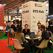 Hundreds of stalls exhibition at Business Travel Show 2020 and travel technology europe on 26th February 2020, Olympia London‎, UK.