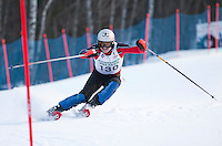 Cliff Nyquist Memorial Slalom race at Gunstock   February 21,  2012.