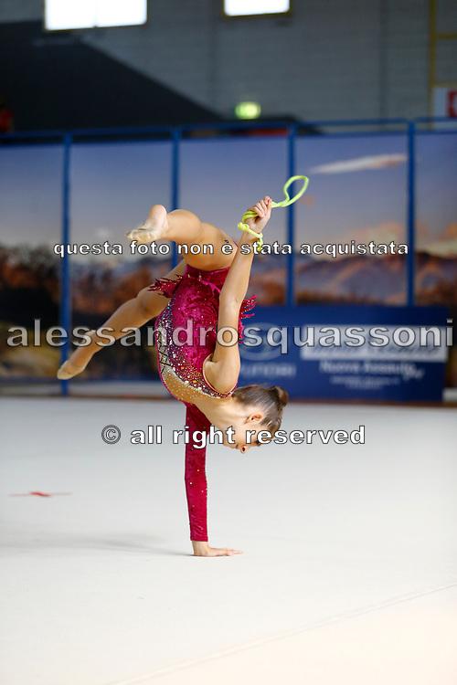 Giada Papasergi della Concordia gareggia al Campionato Regionale Specialità Gold a Candelo in Piemonte il 12-09-21.