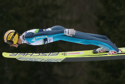 Andreas Kuettel (SUI) at Qualification's 1st day of 32nd World Cup Competition of FIS World Cup Ski Jumping Final in Planica, Slovenia, on March 19, 2009. (Photo by Vid Ponikvar / Sportida)