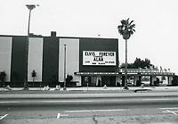 1978 Aquarius Theater on Sunset Blvd. at Argyle St.