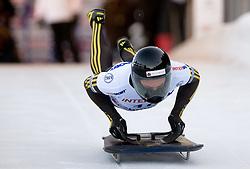 Michi Halilovic of Germany competes during 1st Run of FIBT Bob & Skeleton World Cup Innsbruck-Igls race on January 23, 2009 in Igls, Innsbruck, Austria. (Photo by Vid Ponikvar / Sportida)