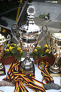 Berlin, GERMANY. Silver Cup's, Medals and Plaques on display, Berliner Ruderclub.   [Mandatory Credit; Peter Spurrier/Intersport-images].