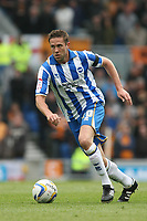 Football - 2012 / 2013 Championship - Brighton and Hove Albion vs. Wolverhampton Wanderers<br /> Brighton's Matthew Upson in action at The American Express Community Stadium