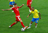 Sergej Milinkovic-Savic (Serbia) and b10\<br /> Moscow 27-06-2018 Football FIFA World Cup Russia  2018 <br /> Serbia - Brazil / Serbia - Brasile<br /> Foto Matteo Ciambelli/Insidefoto