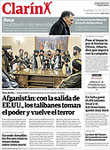 August 16, 2021 - LATIN AMERICA: Front-page: Today's Newspapers In Latin America