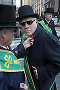 l to r: Brendan Deegan and Pete Provencher at The New York City St. Patrick's Day Parade held on Fifth Avenue in New York City