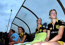 20-05-2007 HOCKEY: FINALE PLAY OFF: DEN BOSCH - AMSTERDAM: DEN BOSCH <br /> Den Bosch voor de tiende keer op rij kampioen van de Rabo Hoofdklasse Dames. In de beslissende finale versloegen zij Amsterdam met 2-0 / Casandra de Klerk, Emilie Mol, Lynn van Beek en Carlien Dirkse van de Heuvel<br /> ©2007-WWW.FOTOHOOGENDOORN.NL