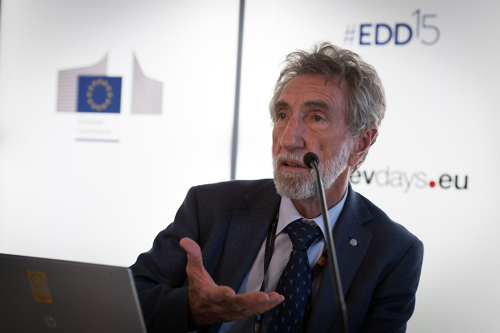 03 June 2015 - Belgium - Brussels - European Development Days - EDD - Urban - Growing food in greener cities - The role of urban and peri-urban horticulture - Wilfried Baudoin<br /> Specialist, Urban and Peri-urban Horticulture, Food and Agriculture Organization of the United Nations (FAO) © European Union
