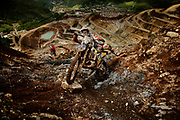 1500 riders started out. 500 did start in the Red Bull Hare Scramble. 14 riders completed the race in 2013. In 2014 31 did finish.