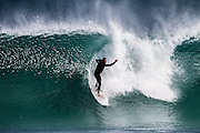 Surfing at Boodjidup, Margaret River, Western Australia.  Buy your surf photos online.  nzsurfpix.com :: Silas Hansen