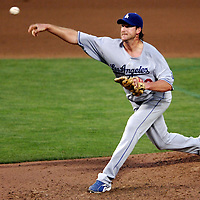 30 May 2007:  Los Angeles Dodgers pitcher Derek Lowe (23) pitches in the 5th inning against the Washington Nationals.  Lowe pitched seven inning without giving up a run while striking out 5 as the Dodgers defeated the Nationals 5-0 at RFK Stadium in Washington, D.C.  ****For Editorial Use Only****