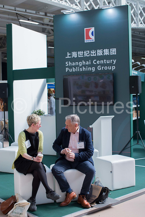 Shanghai Century Publishing Group during day three of the London Book Fair on the 14th March 2019 at London Olympia in the United Kingdom.