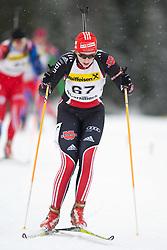 11.12.2010, Biathlonzentrum, Obertilliach, AUT, Biathlon Austriacup, Sprint Lady, im Bild Marie-Christin Kloss (GER, #67). EXPA Pictures © 2010, PhotoCredit: EXPA/ J. Groder