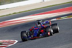 February 27, 2017 - Barcelona, Spain - Motorsports: FIA Formula One World Championship 2017, Test in Barcelona,.#55 Carlos Sainz (ESP, Scuderia Toro Rosso) (Credit Image: © Hoch Zwei via ZUMA Wire)