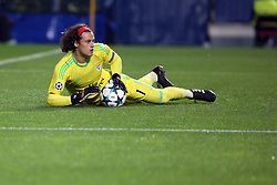 December 5, 2017 - Lisbon, Portugal - Benfica's Belgian goalkeeper Mile Svilar in action during the UEFA Champions League Group A football match between SL Benfica and FC Basel at the Luz stadium in Lisbon, Portugal on December 5, 2017. (Credit Image: © Pedro Fiuza/NurPhoto via ZUMA Press)