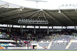 Bristol City fans at Hull City - Mandatory by-line: Dougie Allward/JMP - 02/04/2016 - FOOTBALL - KC Stadium - Hull, England - Hull City v Bristol City - Sky Bet Championship