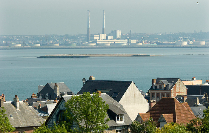 Le Havre ,Frankrijk,20 mei, 2010.Opwerkings fabriek voor nucleair afval..(c)renee teunis