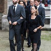 NLD/Delft/20131102 - Herdenkingsdienst voor de overleden prins Friso, prinses Margarita en partner Tjalling ten Cate
