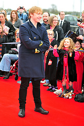 © Licensed to London News Pictures. 31/03/2012. Watford, England. Rupert Grint attends The Warner Bros. Studio Tour London - The Making of Harry Potter ** GRAND OPENING at Leavesden Studios near Watford Hertfordshire  Photo credit : ALAN ROXBOROUGH/LNP