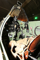 Supermarine Spitfire Vb BL614, Royal Air Force Museum Hendon - Open Cockpits, 11 March 2014, Photo by Richard Goldschmidt