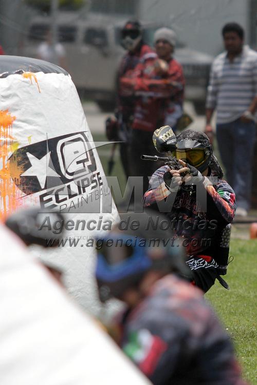 Metepec, Méx.- Jugadors de speedball participan en la tercera fecha del serial nacional Road to Word Cup Severe. Agencia MVT / Arturo Hernandez S.