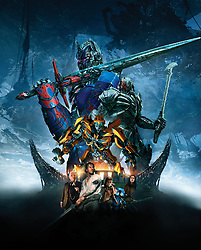 RELEASE DATE: June 21, 2017 TITLE: Transformers: The Last Knight STUDIO: Paramount Pictures DIRECTOR: Michael Bay PLOT: Autobots and Decepticons are at war, with humans on the sidelines. Optimus Prime is gone. The key to saving our future lies buried in the secrets of the past, in the hidden history of Transformers on Earth. STARRING: Poster Art. (Credit Image: © Paramount Pictures/Entertainment Pictures/ZUMAPRESS.com)