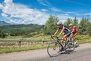 Road biking in Aspen, Colorado.