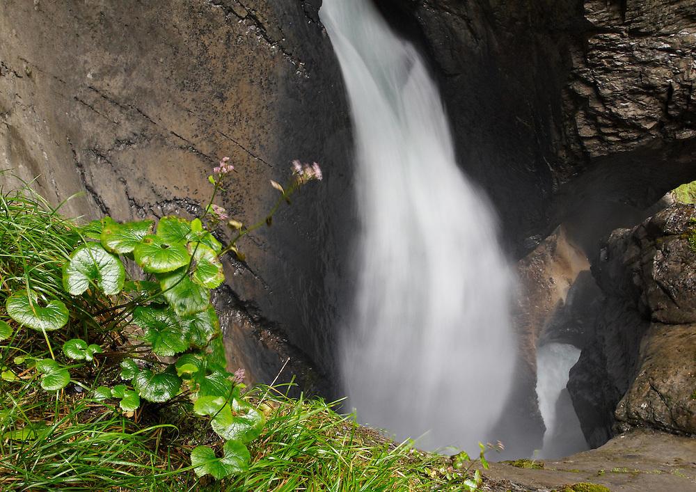 Switzerland - Trummelbach waterfall