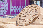 Sand Sculpture at the Van's US Open of Surfing in Huntington Beach