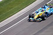 July 2, 2006: Indianapolis Motorspeedway. Giancarlo Fisichella, Mild Seven Renault F1 Team, R26