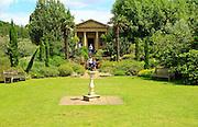 King William's Temple and Mediterranean Garden,  Royal Botanic Gardens, Kew, London, England, UK