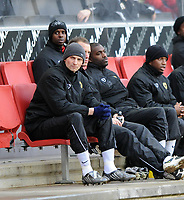 Fotball<br /> England<br /> Foto: Fotosports/Digitalsport<br /> NORWAY ONLY<br /> <br /> Milton Keynes Dons v Scunthorpe Coca Cola League One 06.12.08 <br /> <br /> Tore Andre Flo MK Dons 2008/09 on the bench