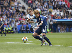 Aldana COMETTI (ARG), Yuika SUGASAWA (JPN) in action during the match of 2019 FIFA Women's World Cup France group D match between Argentina andJapan, at Parc des Princes on June 10, 2019 in Paris, France. Photo by Loic BARATOUX/ABACAPRESS.COM