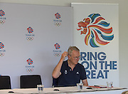 Caversham, Nr Reading, Berkshire.<br /> <br /> Sir DAVID TANNER, Olympic Rowing Team Announcement  Press conference at the RRM. Henley.<br /> <br /> Thursday  09.06.2016<br /> <br /> [Mandatory Credit: Peter SPURRIER/Intersport Images] 09.06.2016,
