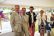 ARNAUD BAMBERGER; LORD MARCH; LAURENT FENIOU; LADY MARCH, Goodwood Festival of Speed Cartier lunch. 27 June 2015