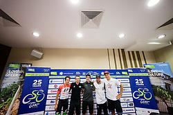Rigoberto Uran Uran, Rafal Majka, Primoz Roglic, Mark Cavendish and Marcel Kittel during press conference of 25th Tour de Slovenie 2018 cycling race, on June 12, 2018 in Hotel Livada, Moravske Toplice, Slovenia. Photo by Vid Ponikvar / Sportida