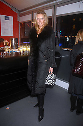 PENNY LANCASTER at a Winter Party to celebrate the opening of the Ice Rink at Somerset House, London in association with jewellers Tiffany on 20th November 2007.<br /><br />NON EXCLUSIVE - WORLD RIGHTS