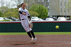 22 April 2017:  Sarah Finck during a Missouri Valley Conference (MVC) women's softball game between the Missouri State Bears and the Illinois State Redbirds on Marian Kneer Field in Normal IL